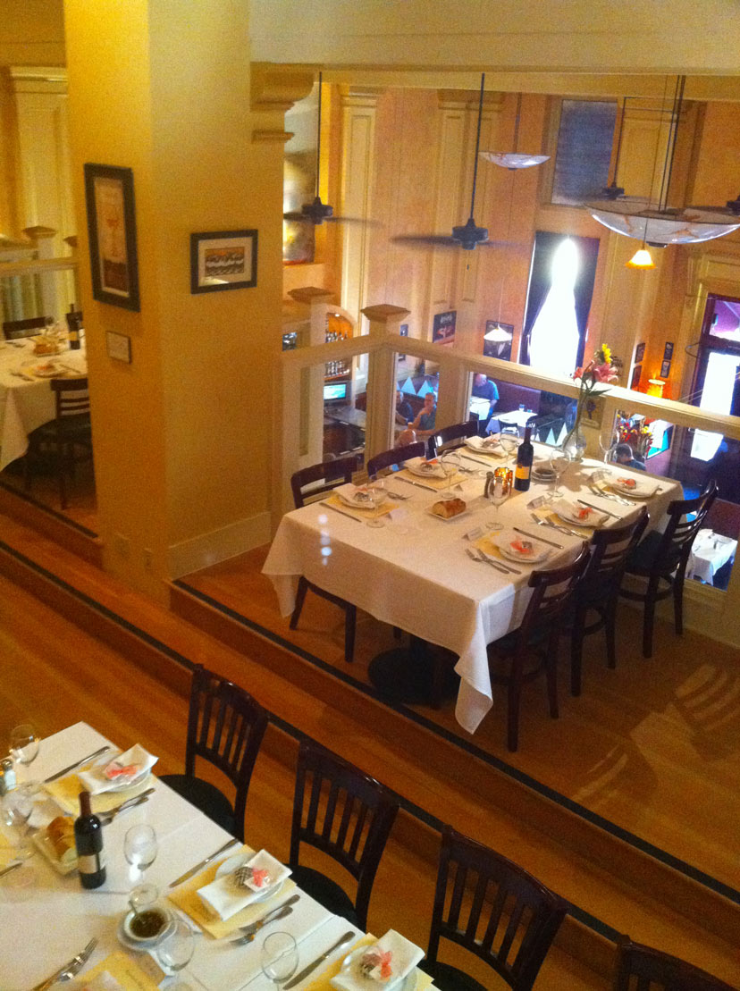 Dine in our Bella Room