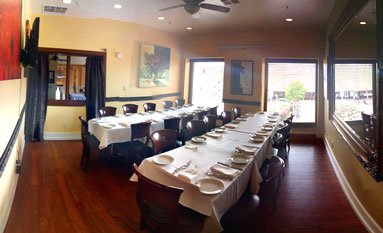 Book Your Event in the Chardonnay Room