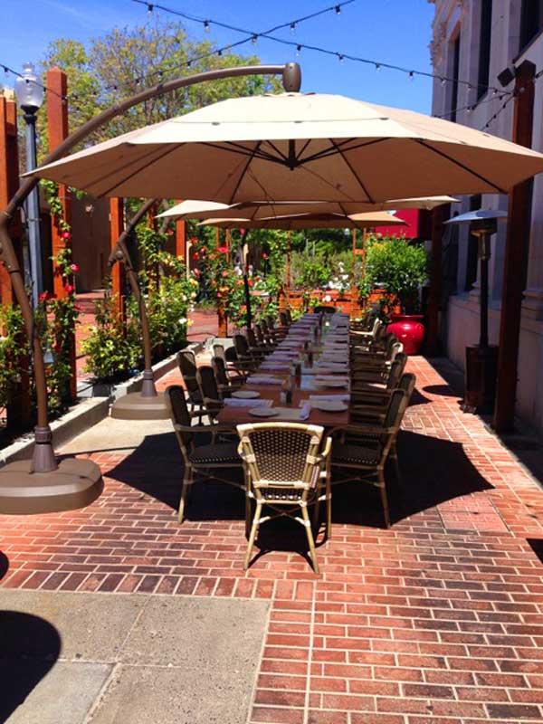 Patio Dining in Napa Valley California & Patio Dining Napa Valley | Outdoor Seating Ristorante Allegria