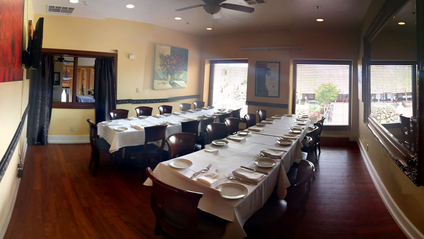 Private Dining in the Chardonnay Room