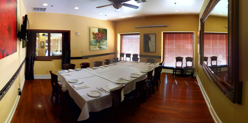 Hold Your Next Event in our Chardonnay Private Dining Room