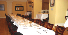 Dine in our Private Dining Rooms